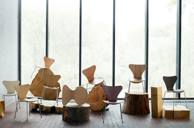 Cadeiras Jacobsen