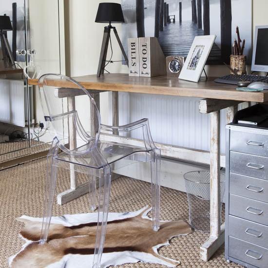 Home Office rustico e moderno