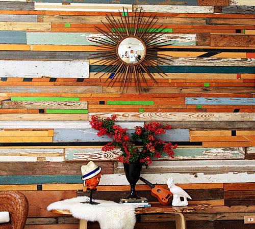 Ideias originais usando madeira