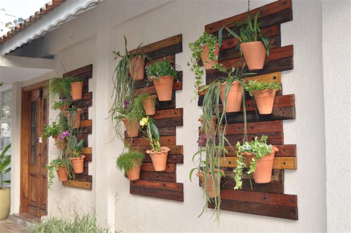 jardim vertical terraco:Vertical Wall Garden
