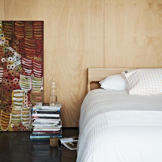 Madeira na decoração do quarto