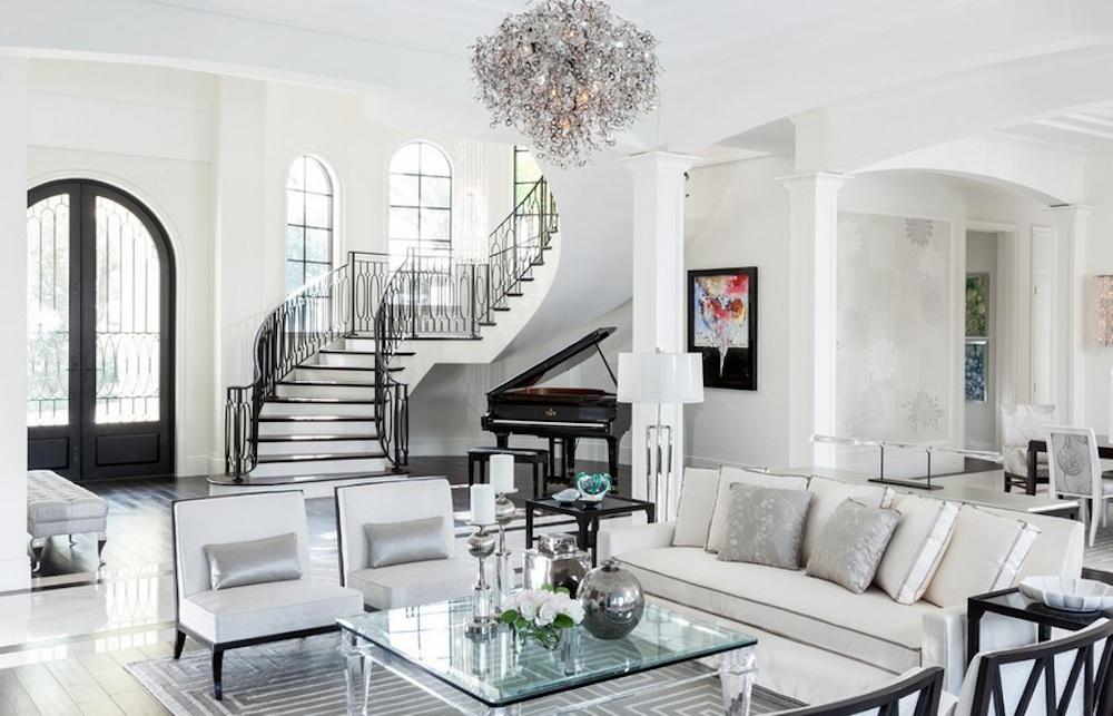 Muito luxo na decoração