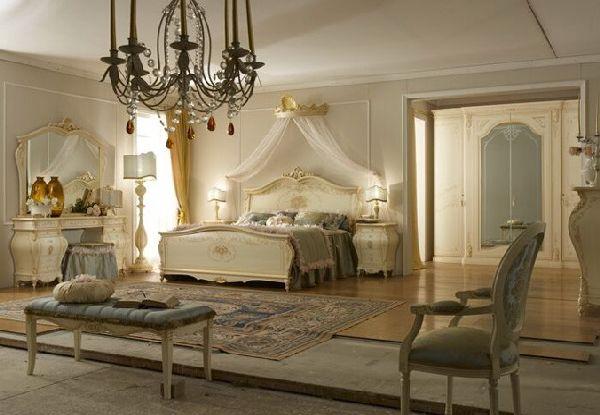 Quarto luxuoso estilo provençal