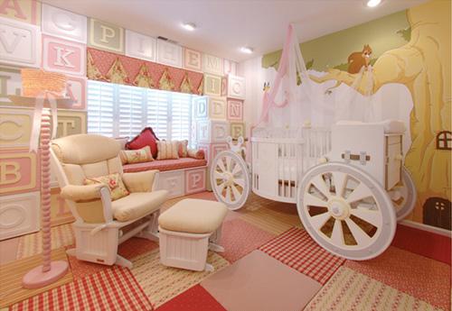 Um quarto de princesa