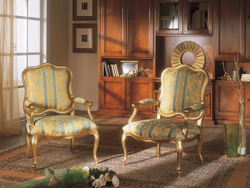 Poltronas e cadeiras Luiz XV são lindas