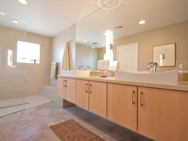 Banheiro decorado neutro