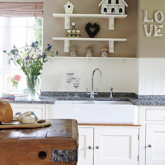 Cozinha aconchegante com design clássico