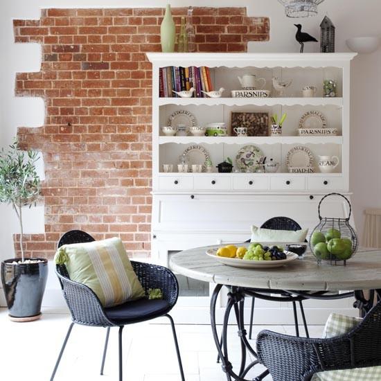 Cozinha integrada a sala de jantar
