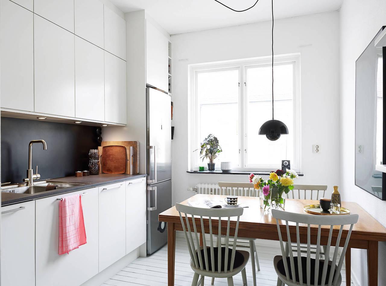 Cozinha pequena e super organizada