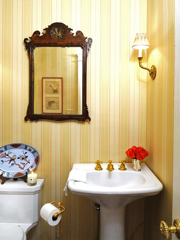 Powder Room Paint By Ross Shge