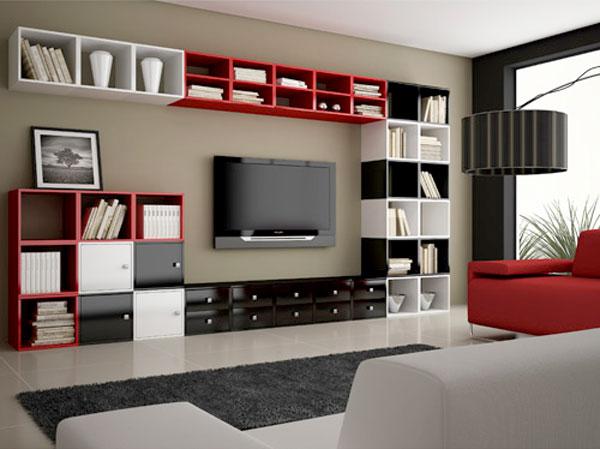 nichos e cubos para organizar e decorar sua casa