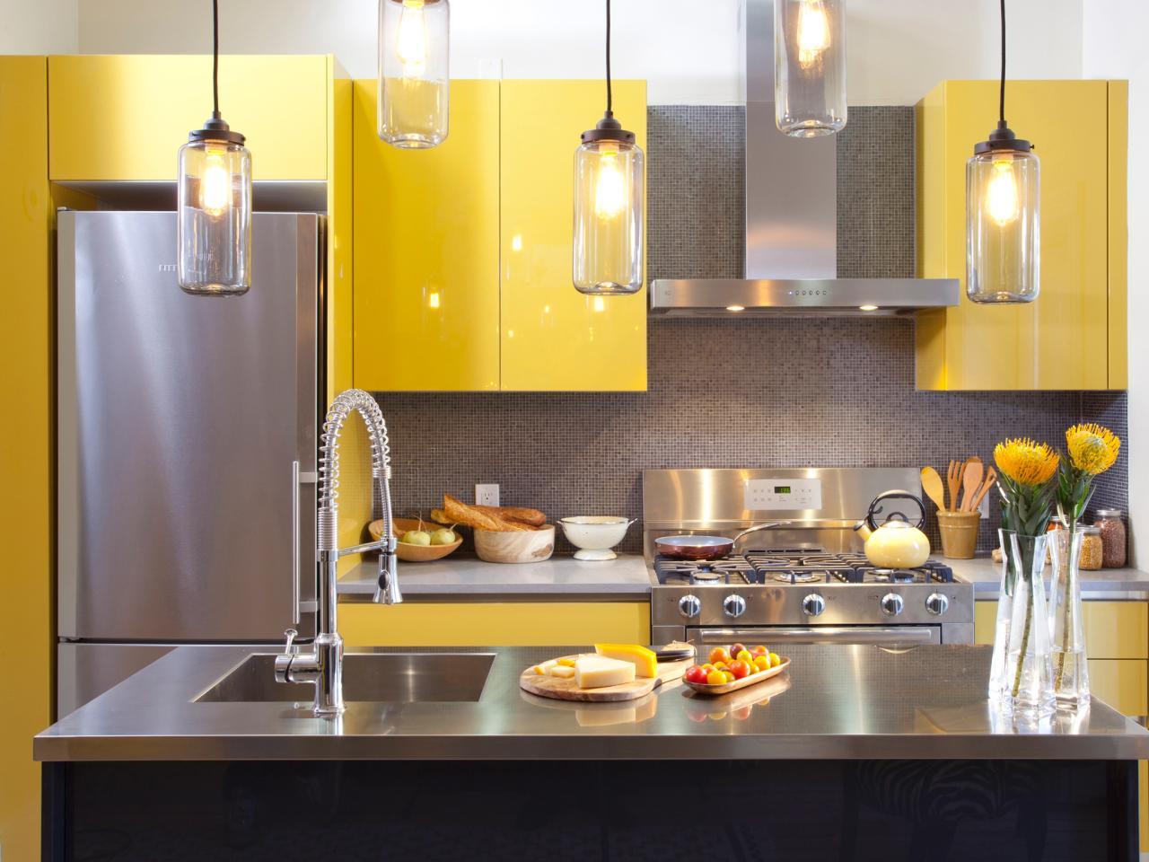 Amarelo é perfeito na cozinha