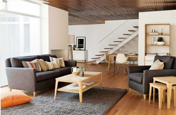 Minimalismo na sala de estar