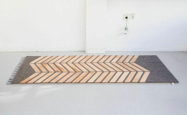 O design do carpete é pensado para otimizar a massagem revigorante