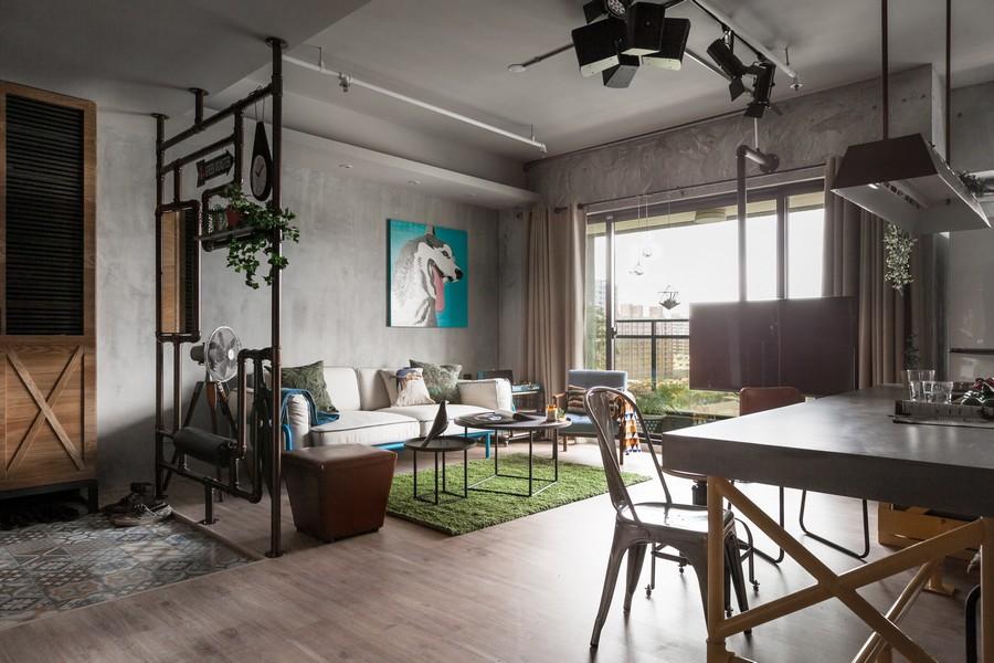O loft é exemplo lindo de otimização dos espaços