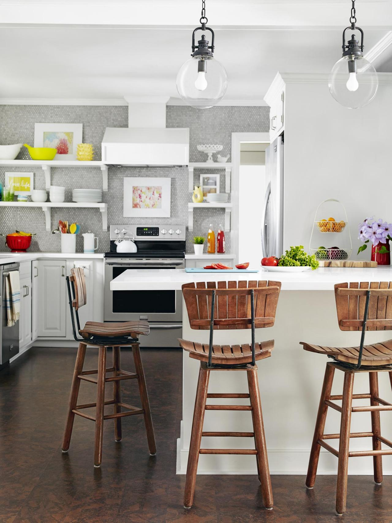 Temas modernos na cozinha