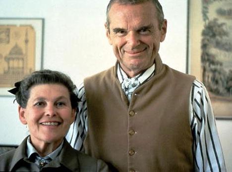 O casal Charles e Ray Eames