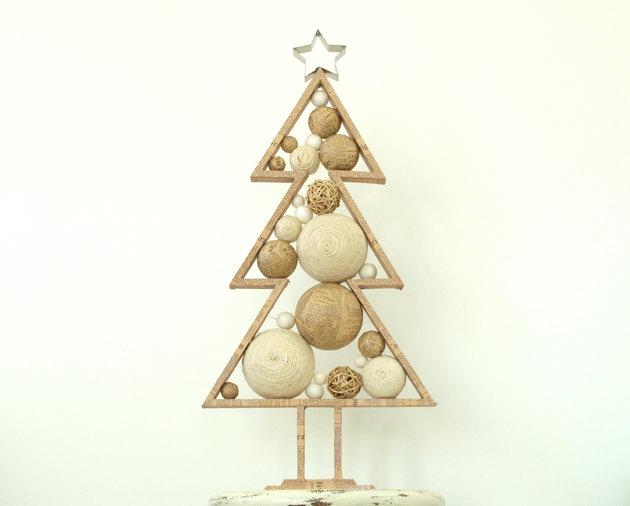 Diferentes materiais podem ser usados na árvore