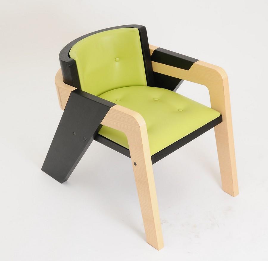 A cadeira IO tem várias cores