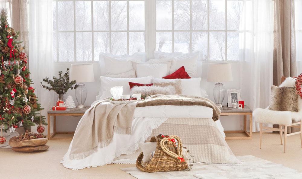 Decoração natalina no quarto