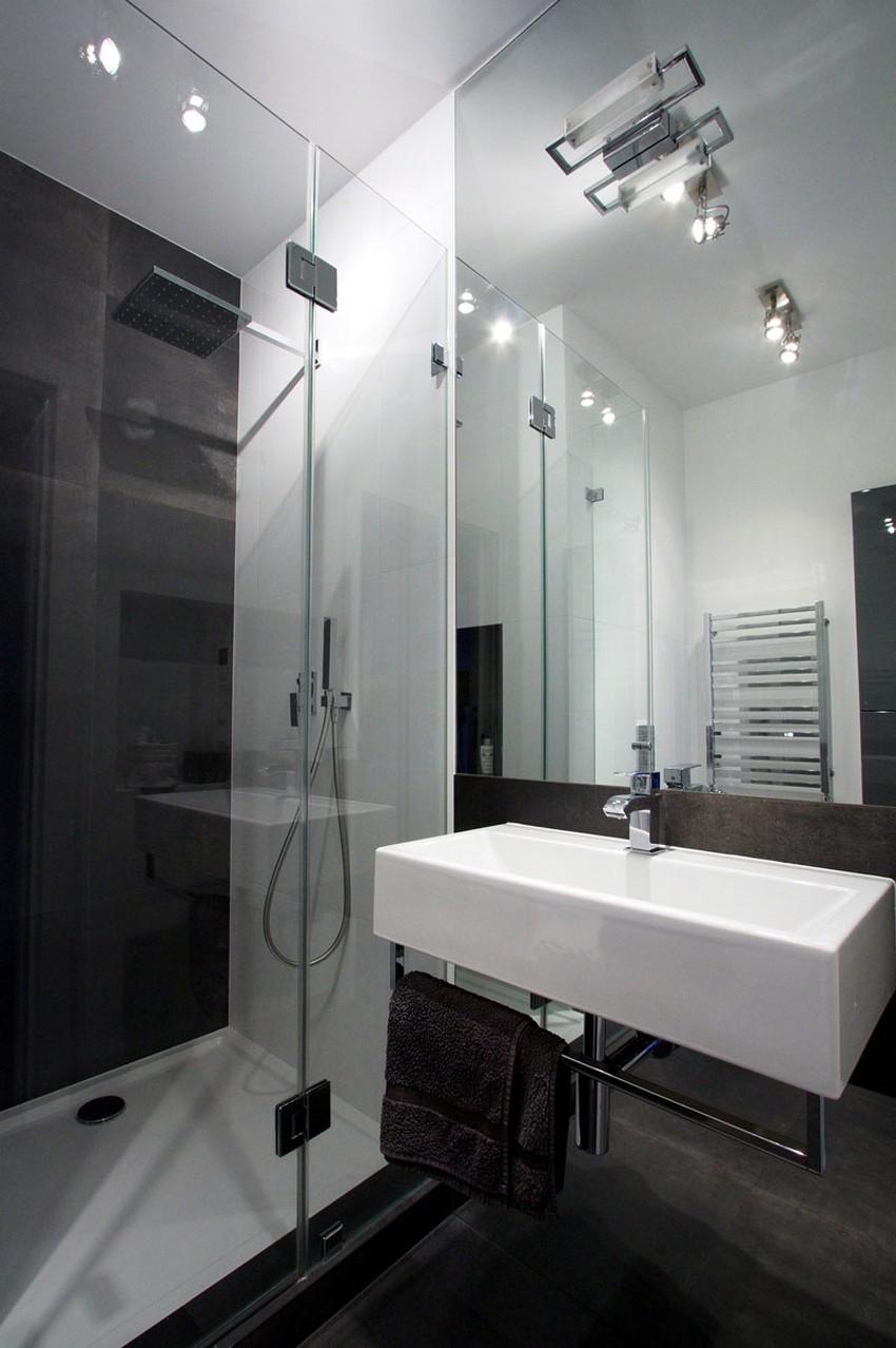 O design industrial também aparece no banheiro