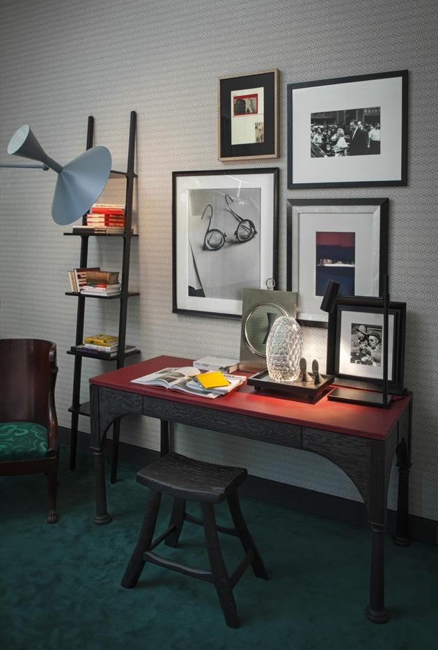 Um cantinho pequeno se transformou em um Home Office