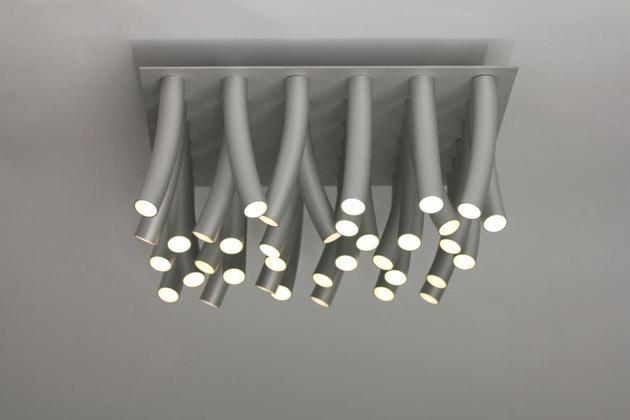 Moderna Luminaria de Teto LED
