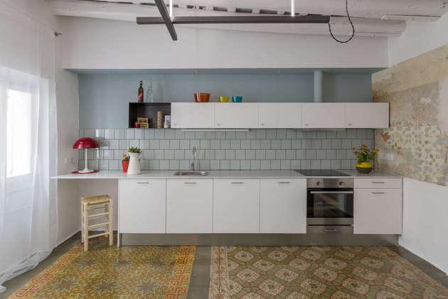 4 Áreas diferentes num apartamento pequeno