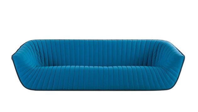 Lindo Sofa Azul por Roche Bobois