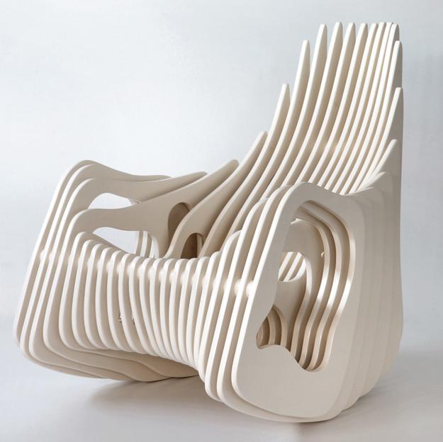 Cadeira de balanço Mamulengo por Eduardo Baroni