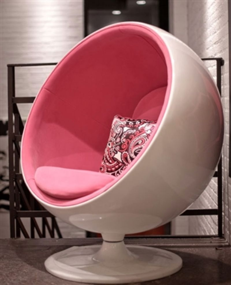 Pink ball chairs -  Poltrona Ball Chair