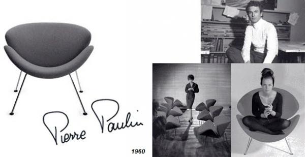 Pierre Paulin 1927-2009 França